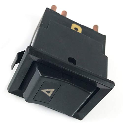 Warning Lamp Switch Fits for All for Defenders Up to 2001 to VIN Number 1A999999 YUF101490 Durable Automobile Replacement