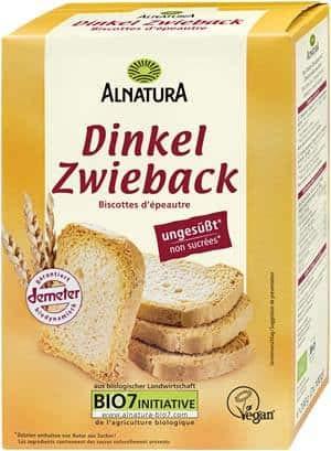 Alnatura Bio Dinkel-Zwieback, 200g