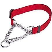 Guardian Gear Choke-Style Adjustable Martingale Dog Collar
