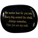 ALSO MAKES A GREAT STOCKING STUFFER FOR FOR RELATIVES AND FRIENDS - Everlasting beautiful polished engraved stone with golden writing, Present your friend or family with this special forever Keepsake with a lovely heartfelt message on it. Makes an ex...