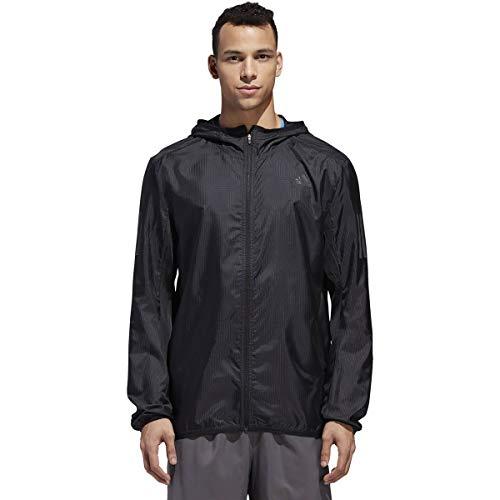 adidas Run - Chaqueta para hombre, color translúcido, Own The Run Chaqueta Translúcido Hombre, Hombre, color negro, tamaño small