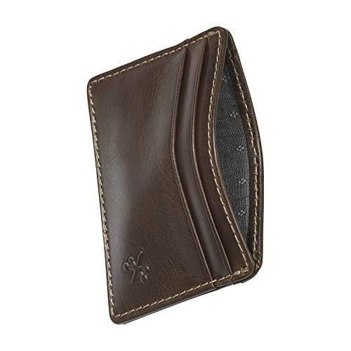 HOJ Co. Hoss Card Case | Slim Card Wallet | Minimalist Credit Card Holder | Front Pocket Wallet