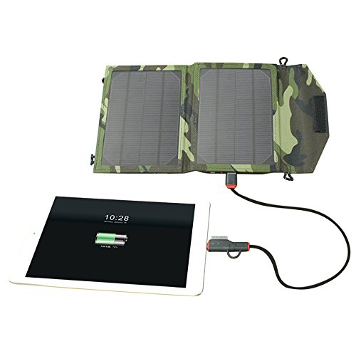 Xie (5 W6 V pliable chargeur solaire iPhone6 chargeur solaire, extérieur portable chargeur de voiture