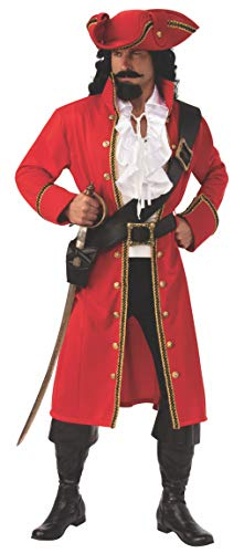 Rubie's Men's Opus Collection Pirate Captain Costume, As Shown, Standard