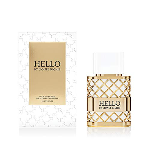 HELLO by Lionel Richie Eau de Parfum | Spray Fragrance for Women | Notes of Pear, Modern Jasmine, Modern Tuberose, & Honey | 1.0 oz/30 mL