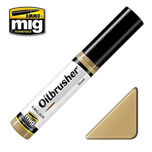 Ammo of Mig Oilbrusher Dust - Oil Paint with Fine Brush Applicator #3516
