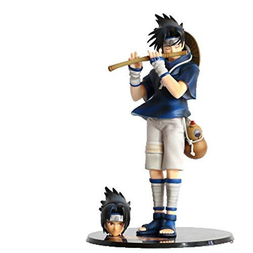 YUEDAI Naruto Modelo Animado, Uchiha Sasuke Modelo de Estatua, Servicio de decoración, 26cm