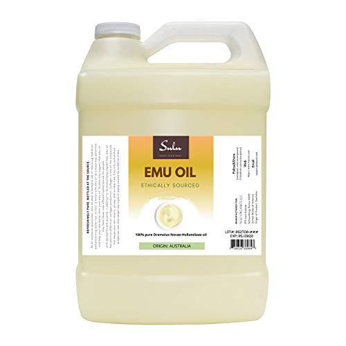 1 GALLON- 100% Pure All Natural Triple Refined Australian Emu Oil