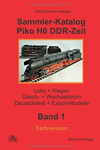Sammler-Katalog Piko H0 DDR-Zeit Farbversion: Loks + Wagen,