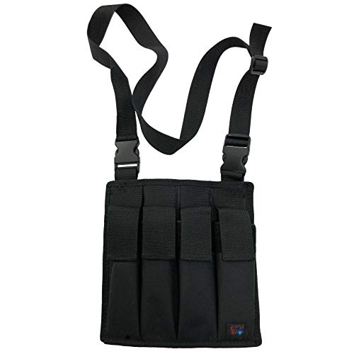 Ace Case 4-Pack Magazine Pouch for Ruger BX-25 and Similar Types