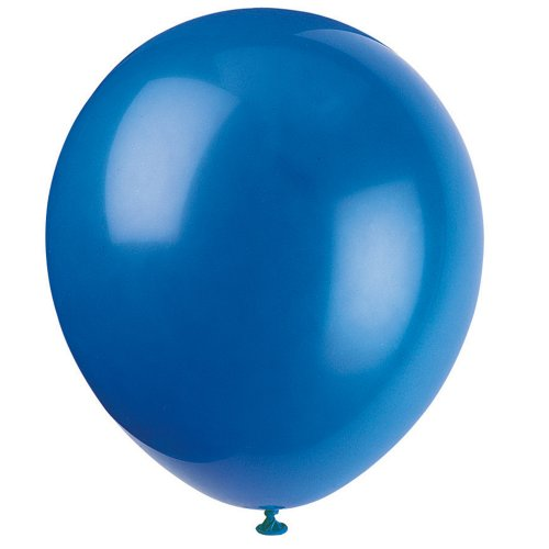 Unique Industries FBA_52317 12' Latex Royal Blue Balloons, 72ct