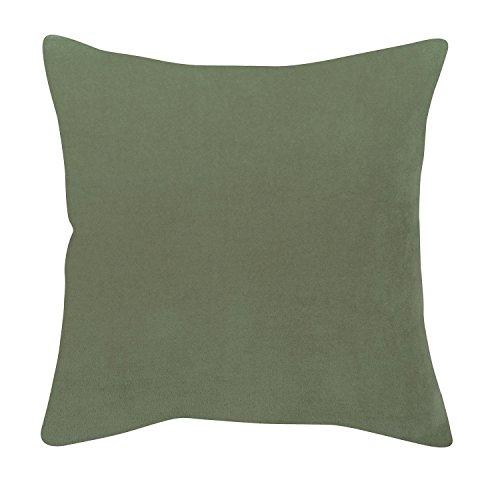 Vivaraise - Coussin - Coussin décoration - Coussin décoratif - Coussin carré - Coussin canapé - Coussin intérieur - Coussin Multifonctions - 45 x 45 - Sauge Vert - Elise