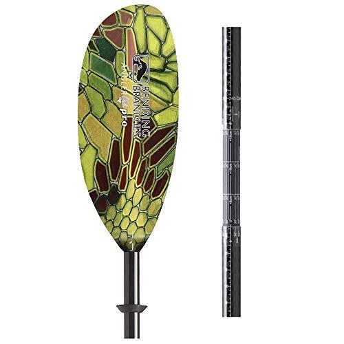 BENDING BRANCHES Angler Pro Plus Fiberglass Telescoping Kayak Paddle-Glowtek-240-255cm