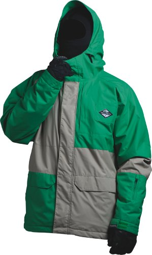 Billabong Herren Snowboard Jacke Relay, golf green, XL, L6JM17BIW2