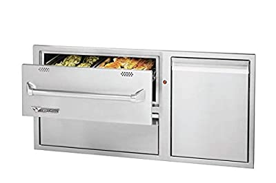 Twin Eagles Warming Drawer Combo (TEWD42C-C), 42-Inch