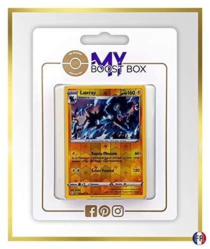 Luxray 33/72 Holo Reverse - Myboost X Epée et Bouclier 4.5 Destinées Radieuses - Box de 10 Cartas Pokémon Francés