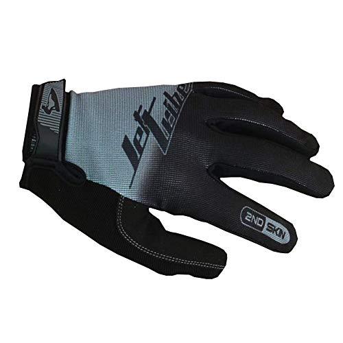 Jet Ski PWC Gloves | Jettribe GP-30 Pixel Series | Thin Breathable Full Finger | Men Women Youth | Recreation Water Sport Accessories (Grey/Black, 2XL)