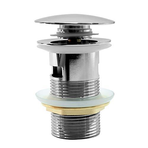 Ablaufgarnitur Universal Ablaufventil Pop Up Ventil für Waschbecken & Waschtisch