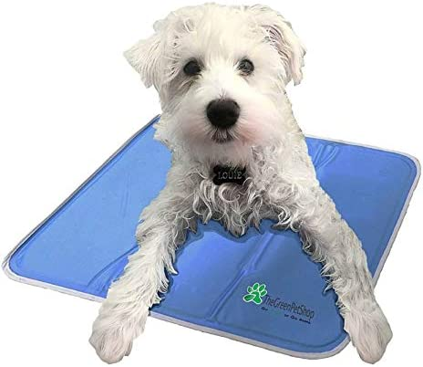TheGreenPetShop Dog Cooling Mat Gel Self Cooling Mat for Dogs The Must Have Cool Pet Pad for product image
