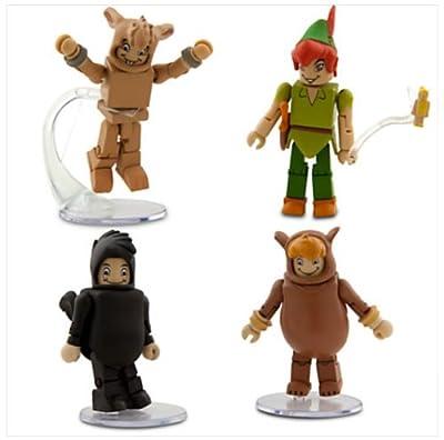 Disney Peter Pan Minimates Exclusive Mini Figure 4-Pack Peter Pan, Cubby, Tootles & Nibs