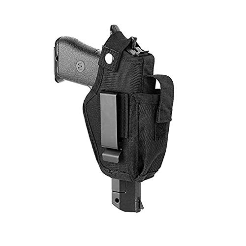 N A Gun Holsters for MenWomen Holster for Pistols Universal Airsoft RightLeft IWBOWB Holsters for Concealed Carry Fits MP Shield 9mm Similar Handgun Black