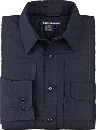 5.11 Tactical Series Women's Taclite Pro Shirt Long Sleeve Femme, Dark Navy, FR : S (Taille Fabricant : S)