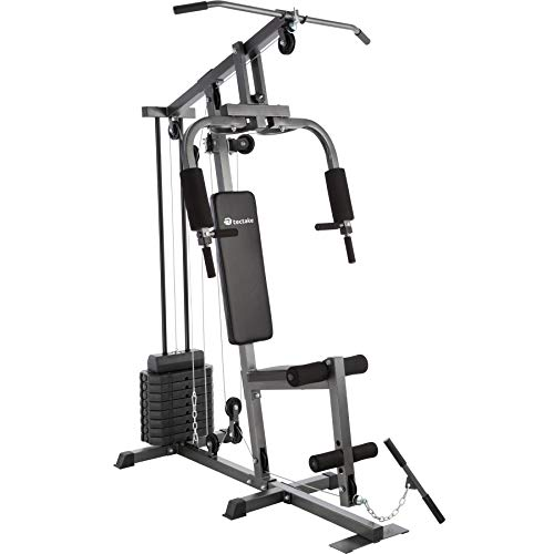 TecTake Station de Musculation Home-Trainer | Module Papillon | Dispositif d'Extension de Jambe | Barre de Traction - diverses modèles (Typ 1 | No. 402756)