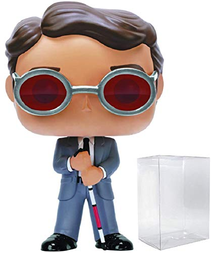 Marvel: Netflix Daredevil – Matt Murdock Funko Pop! Figura de vinilo (incluye funda protectora compatible con Pop Box)