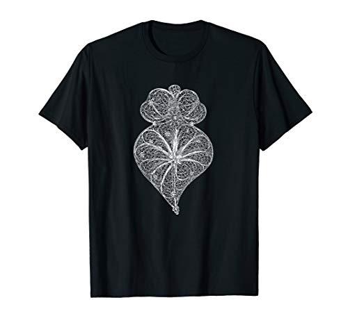 Herz von Viana-Portugiesischem Filigranschmuck T-Shirt