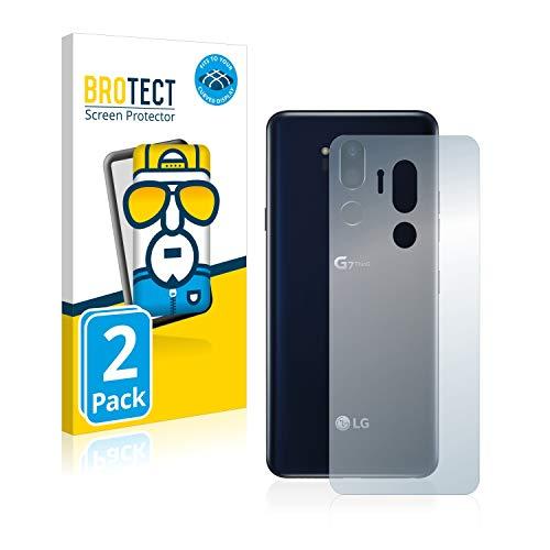 brotect Pellicola Copertura Completa Compatibile con LG G7 ThinQ (Posteriore) (2 Pezzi) Full-Cover 3D Curvo