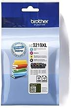 Brother LC-3219XLBK/LC-3219XLC/LC-3219XLM/LC-3219XLY Inkjet Cartridges, Black/Cyan/Magenta/Yellow, Multi-Pack, Super High ...