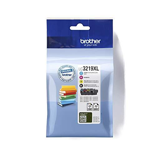 Brother LC-3219XLBK/LC-3219XLC/LC-3219XLM/LC-3219XLY Inkjet Cartridges,...