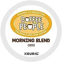 Coffee People Morning Blend, Keurig Single Serve Coffee K-Cup Pod, Light Roast , 72 Count