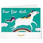 Amazon.de Gutschein zum Drucken (Einhorn)