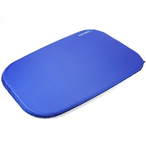Skandika Isomatte Blue Night Double Sleepwell 7 (198x130x7 cm)