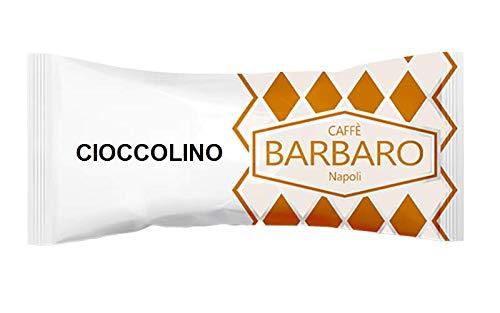 OPLOSBARE CHOCOLADE BARBARO CIOCCOLINO - 5 NESPRESSO COMPATIBELE CAPSULES 5g