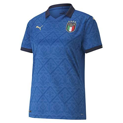 PUMA FIGC Home Shirt Replica W, Maglia Calcio Donna, Team Power Blue/Peacoat, S