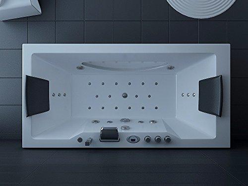 Luxus Whirlpool Badewanne 180×90 in Vollausstattung (Massage) – Sonderaktion - 5