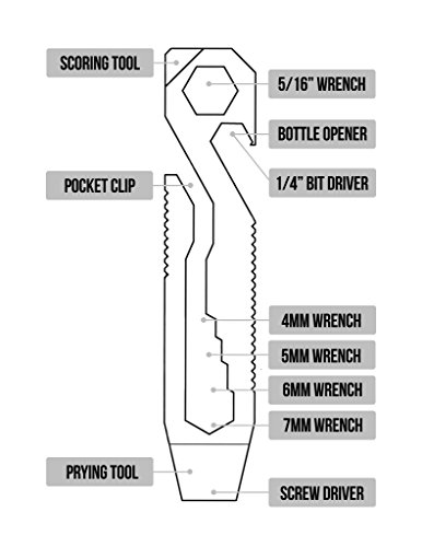 Product Image 1: Griffin Pocket Tool – Original – Stainless Steel