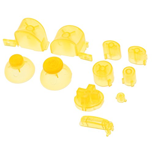 #N/A Remplacer Les Boutons ABXY + Thumbsticks D Pad Mod Kit Pour NGC Clear