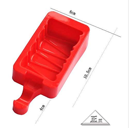 aloiness Eisformen aus Silikon Wiederverwendbare Eisformen 1 Stück Stieleis schnell selbstgemacht Selbstmach EIS am Stiel für Kinder und Erwachsene