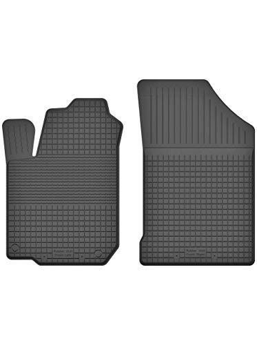 KO-RUBBERMAT 2 Stück Gummifußmatten Vorne geeignet zur Hyundai ix20 (Bj. 2010-2018) ideal angepasst