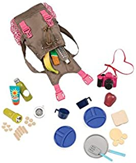 Our Generation Dolls What A Trek Hiking Gear Set for Dolls, 18