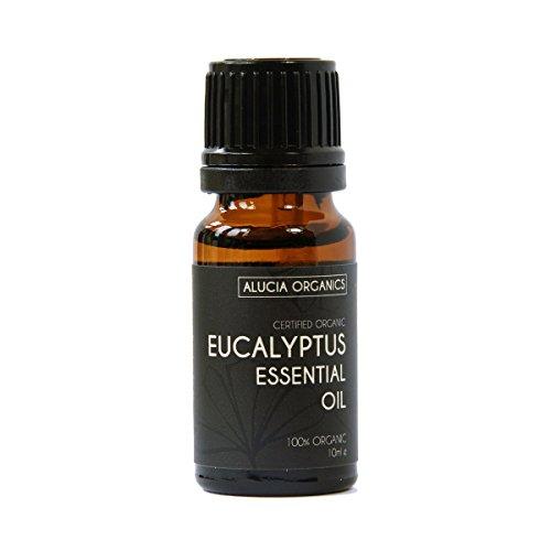 Alucia Organics Aceite Esencial de Eucalipto (Eucalyptus) orgánico certificado 10ml