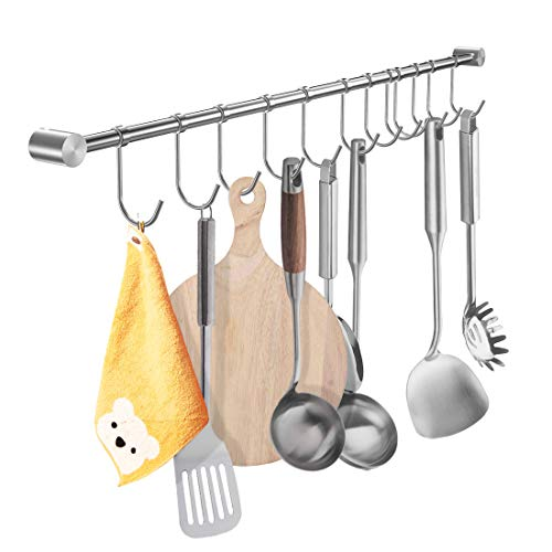 YIHAIXINGWEI Utensil Racks, 22Inch Kitchen hanger 304...