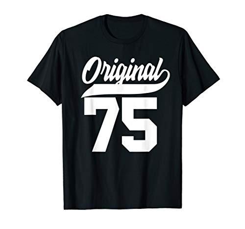 45.Geburtstag Geschenk Mann Frau Original Jahrgang 1975 T-Shirt