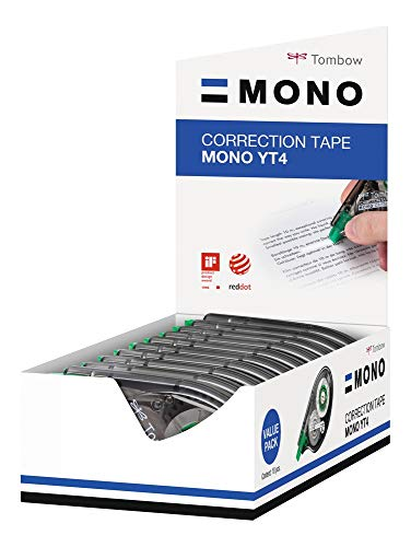 TOMBOW CORRECTION TAPE CT-YT4-10, 10 Pezzi