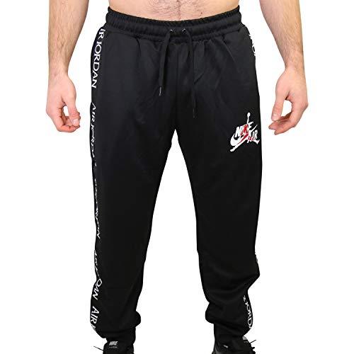 Nike M J Jm CLSC Tricot Warmup Pant Long Sleeve Top, Herren, Schwarz
