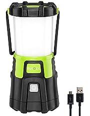EULOCA Torcia Lanterna LED, Lampada Ricaricabile USB Portatile Impermeabile, CREE LED da Campeggio, Pesca, Trekking, Emergenze Escursioni