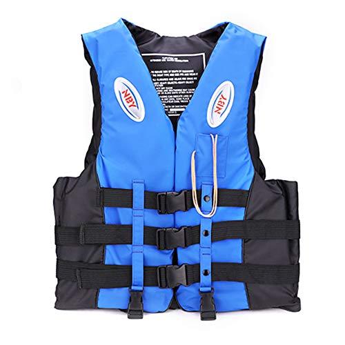 Cappotto da pesca giubbotto di salvataggio regolabile, giubbotto di salvataggio, giubbotto galleggiante, giubbotto salvagente per adulti Bambini adatto per nuoto, kayak, canottaggio, surf, canottaggio